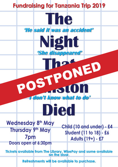 The night that winston died postponed