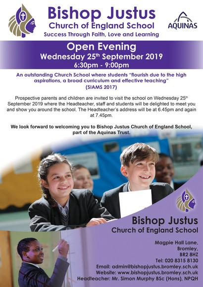 Open eve flyer 2019