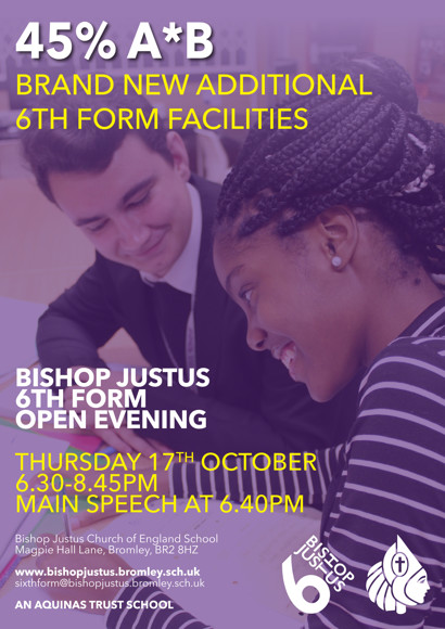 6th Form Open eve flyer 2019